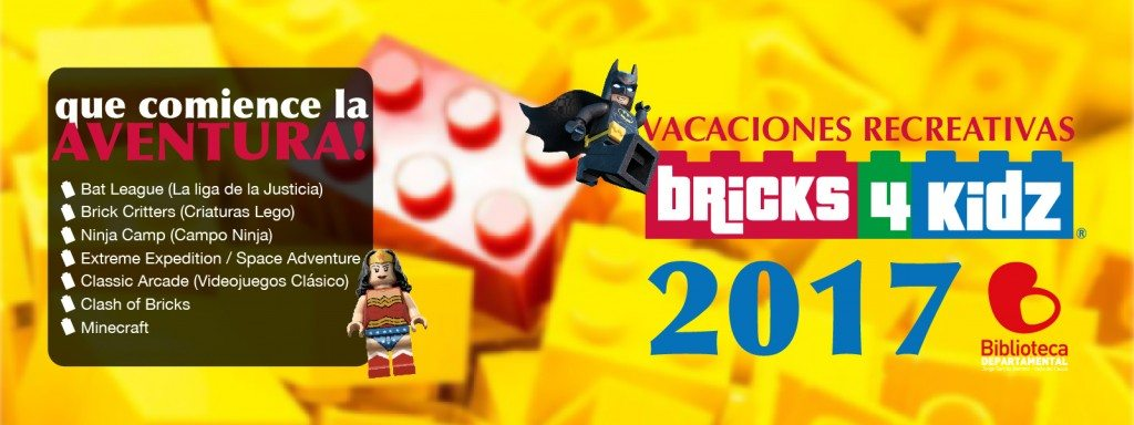 Vacaciones recreativas con lego.
